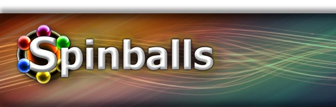 Spinballs homepage logo and banner